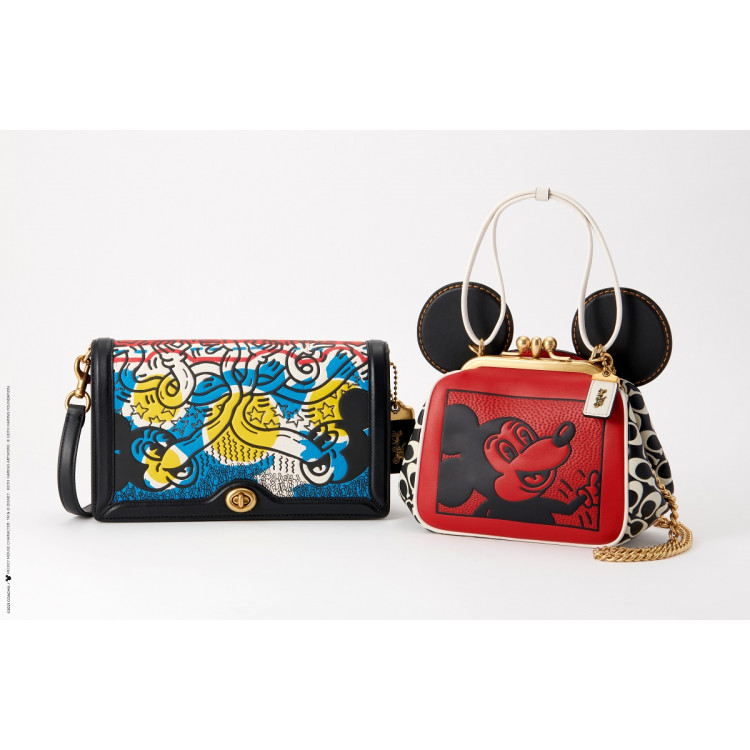 Coach's Mickey and Keith Haring Collection