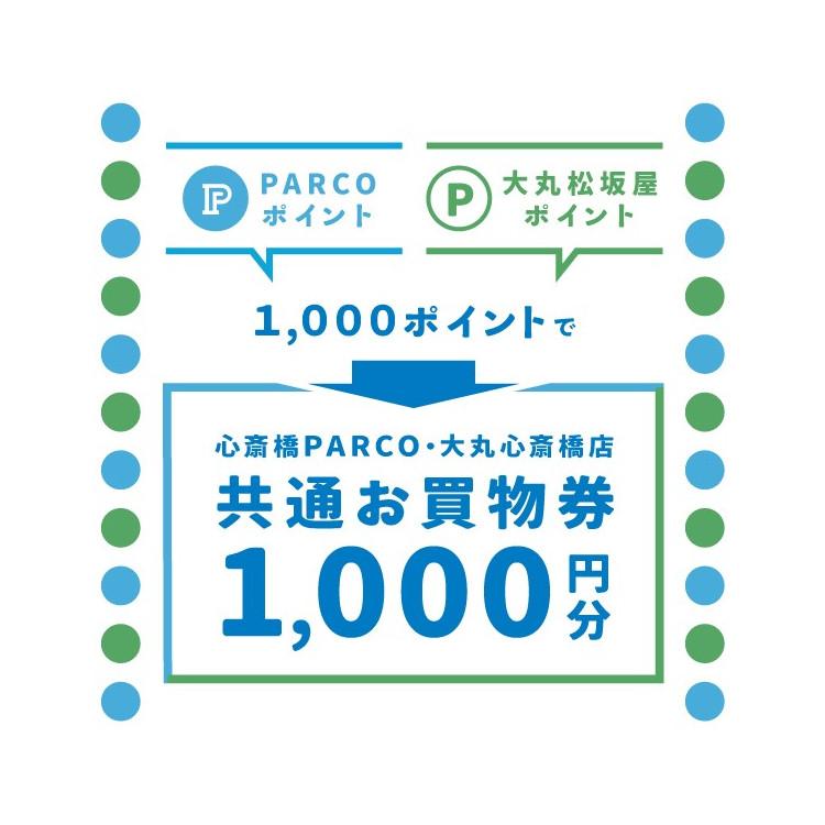 貯めたポイントをPARCOでも大丸でも使える お買物券に交換!
