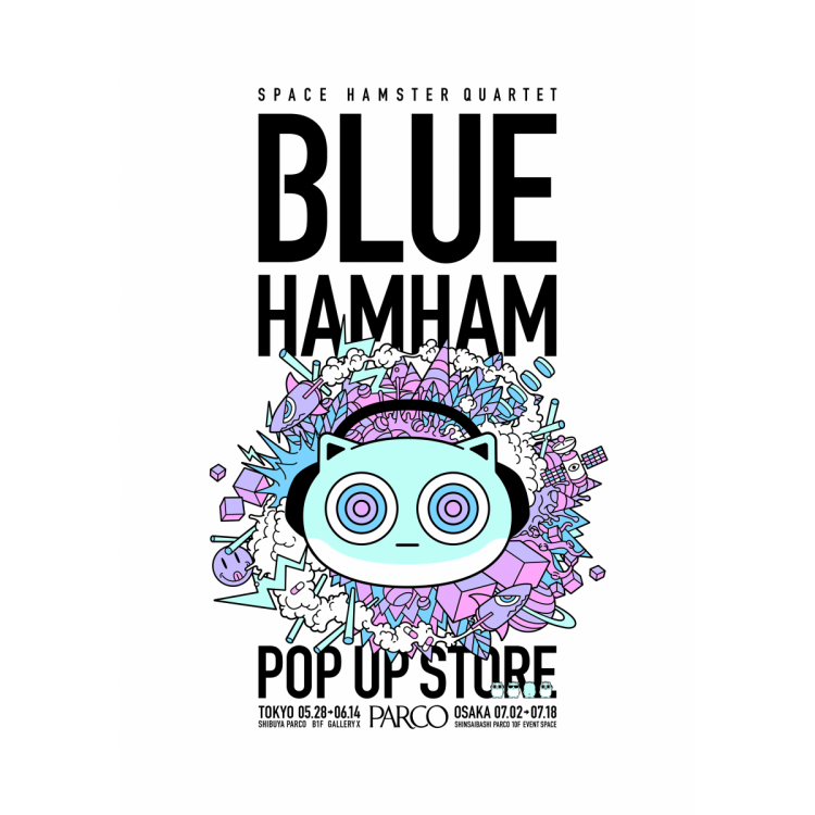 BLUE HAMHAM POP UP STORE