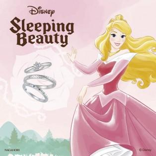【大人気!結婚指輪・婚約指輪】 ディズニープリンセスシリーズ 眠れる森の美女『オーロラ姫』♪