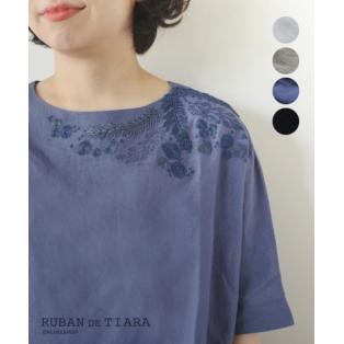 夏のリネン×刺繍。大人の女性らしくロマンティックな刺繍アイテムを上手に取り入れるには?