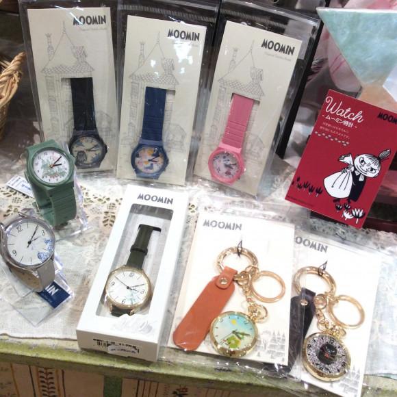 ☆NEW!ムーミンデザインの時計が入荷致しました☆