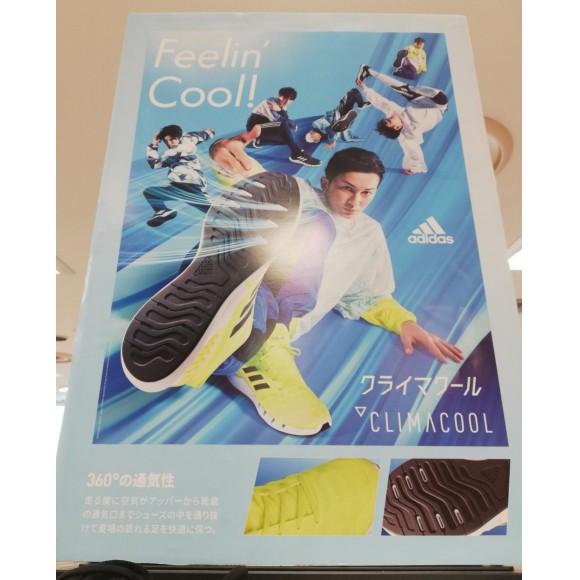 adidas☆クライマ クール