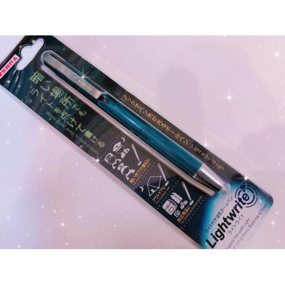 新商品案内☆ゼブラ ライト付き油性ボールペン『ライトライト』