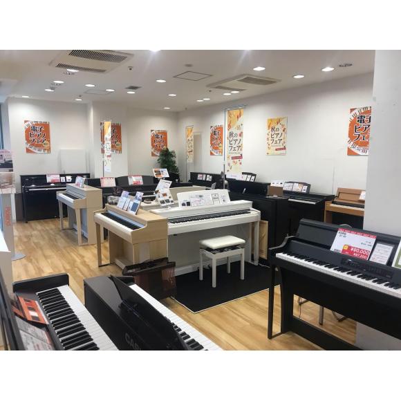 秋のピアノフェア〜〜(^o^)/