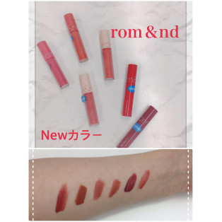 韓国コスメ♡rom&nd(ロムアンド)New Collection