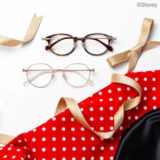 Disney Collectionからミニーマウスイメージのメガネが登場♡