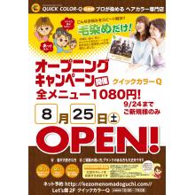 【NEW SHOP】クイックカラーQ