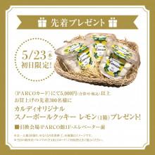 【終了】PARTY SALE初日限定!先着300名様にプレゼント!