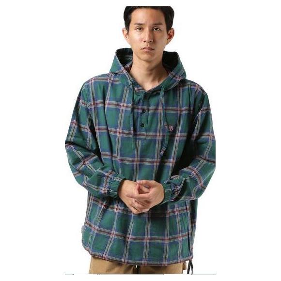 ムラスポでしか買えないアイテム☆オシャレなシャツパーカー:DEAR LAUREL ディアローレル × GUNG HO ガンホー D18F1204