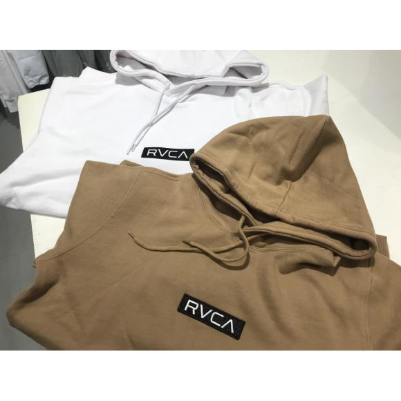 RVCA(ルーカ)の新作パーカー登場!しかも地域限定販売アイテム☆