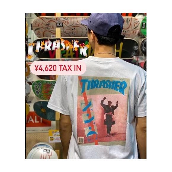 THRASHERのTシャツ
