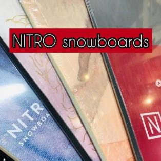 NEWモデルスノーボード入荷!『NITRO』ナイトロ