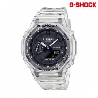 G-SHOCK ジーショック GA-2100SKE-7AJF カシオ 時計 カーボンコアガード構造 スケルトンシリーズ【送料無料】