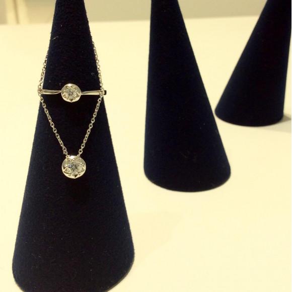 ダイヤモンドリング&ネックレス