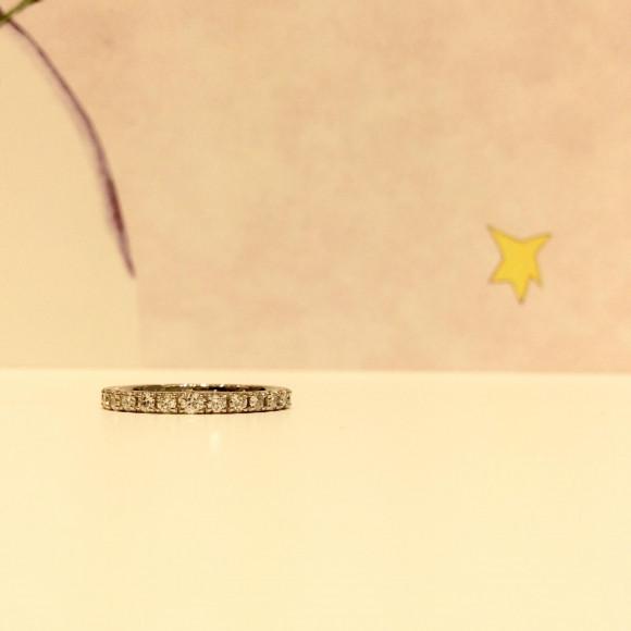 星の王子さまダイヤモンドリング