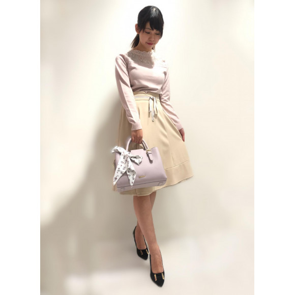 新作♥ニット×スカート