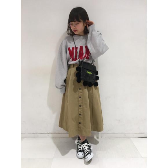 春物☆フレアスカート!!!