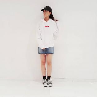 【着回しNo.1アイテム!】BOX LOGO SWEAT HOODIE☆