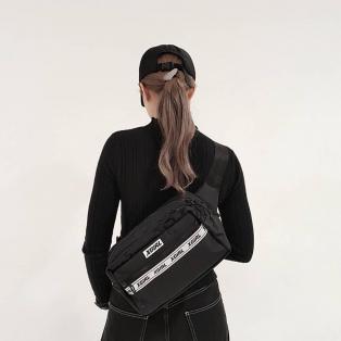 【X-girlらしく アップデートした、コラボアイテム!】X-GIRL X NEWERA SQUARE WAIST BAG★