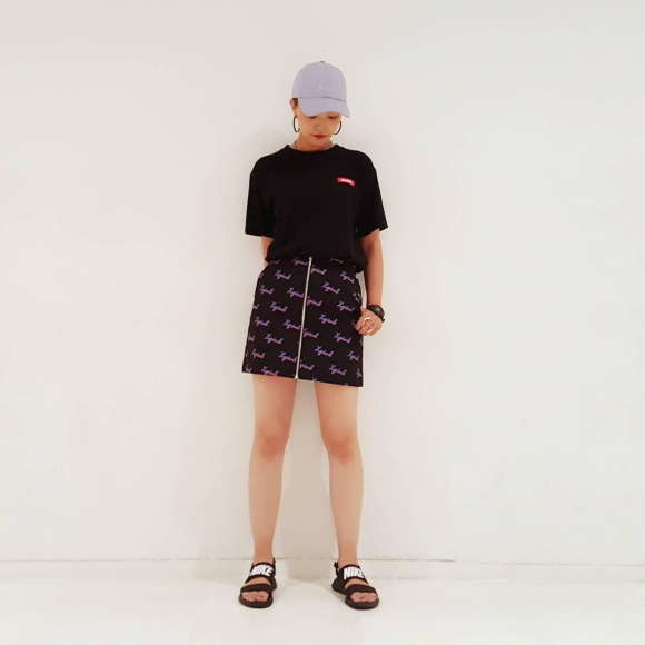 【CHLOEシリーズコーデ!】BIG TEE×ZIP SKIRT★