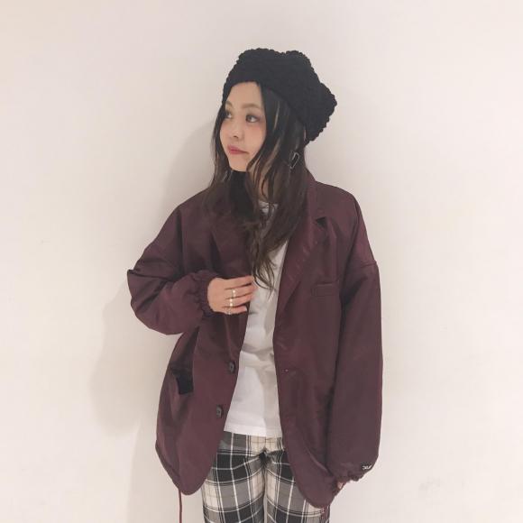 【これっしょ!】フェイスロンTEE×おしゃれジャケット★