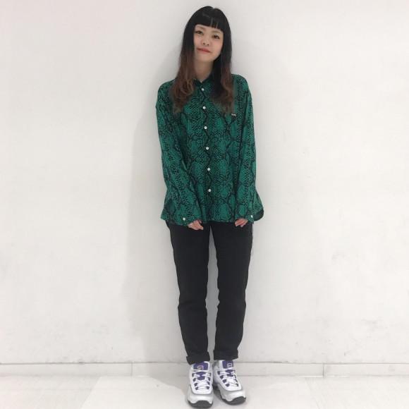 【パイソーン!】スネークパターンシャツ★