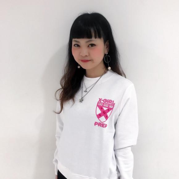【女の子だもの!】スッキリシルエットスウェット★