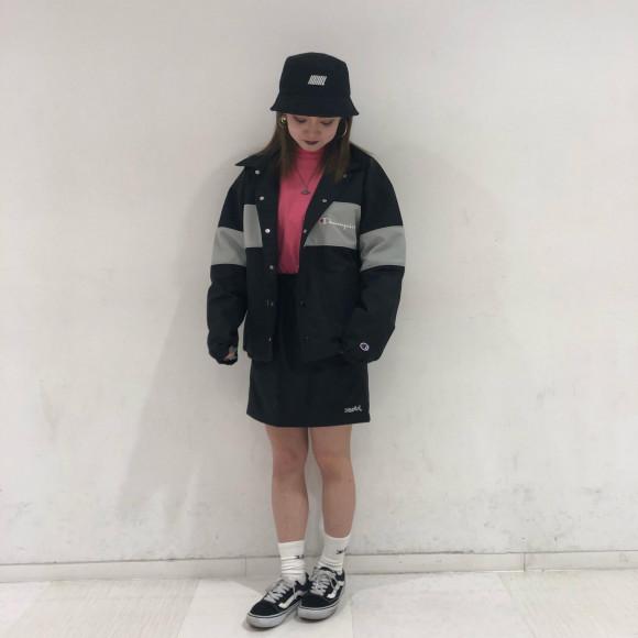 【かわいい×かわいいコラボ★】X-GIRL X CHAMPION MINI SKIRT