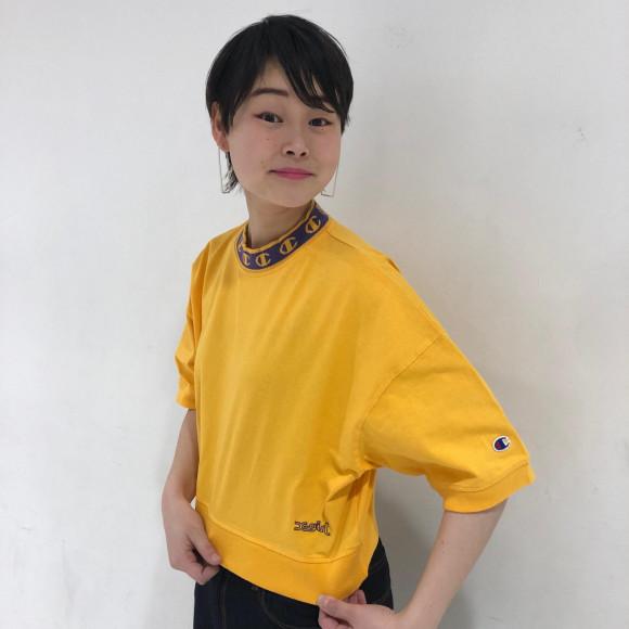 【皆さんお待たせしました!!!】X-GIRL X CHAMPION S/S MOCK NECK TEE