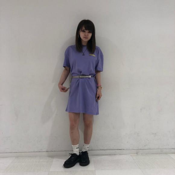 【モナリザを着こなそう!】MONA LISA S/S TEE DRESS