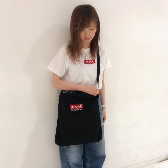 【X-girl★人気ロゴ】2WAYで使える!