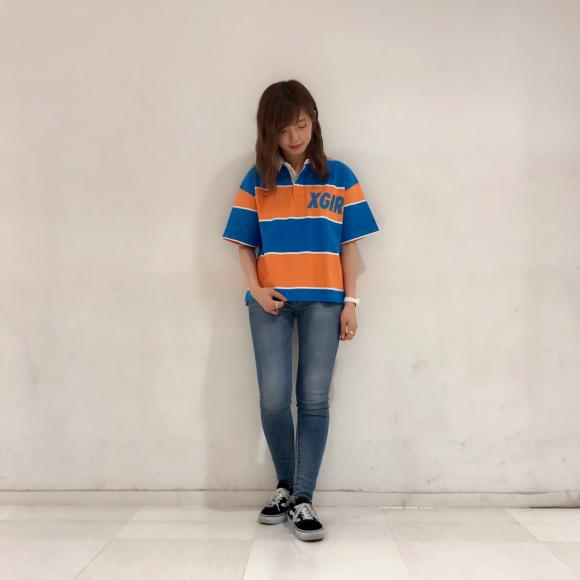 【カラフル~!!】ラグビーシャツ☆