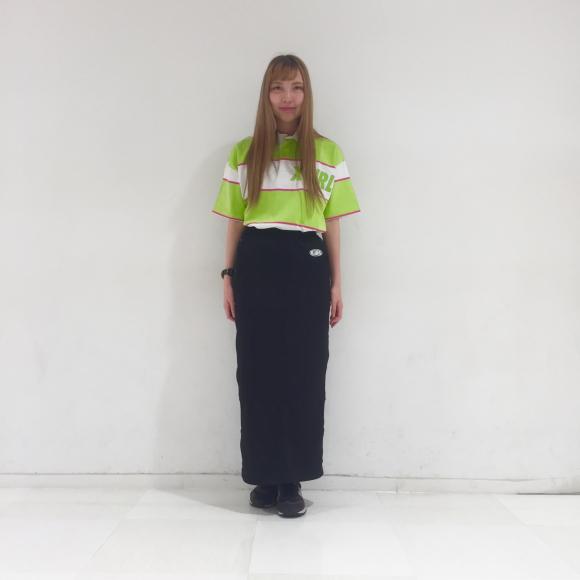 【シルエット良し!履きやすさ良し!!】ロゴスカート★
