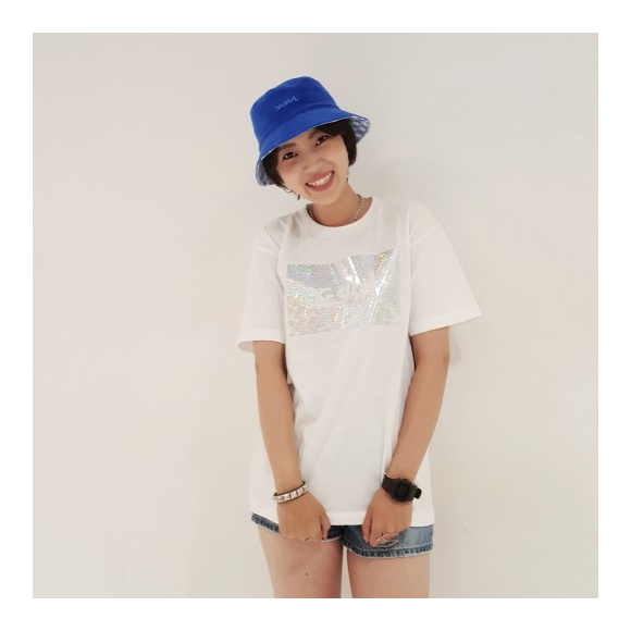【再入荷しました!】SHINY LOGO S/S BIG TEE★