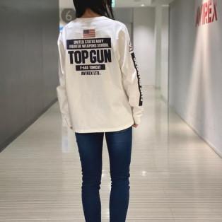 TOP GUNのTシャツです!...