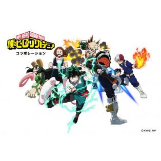 僕のヒーローアカデミア コラボレーションアイテム登場!
