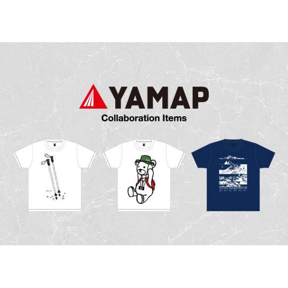 YAMAP×グラニフ コラボレーションアイテム リリース!!