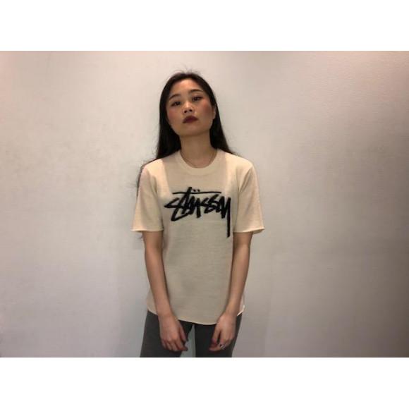 【Stussy women】モヘア風ニットトップス!