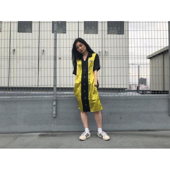 【Stussy women】ボーリングシャツドレス!