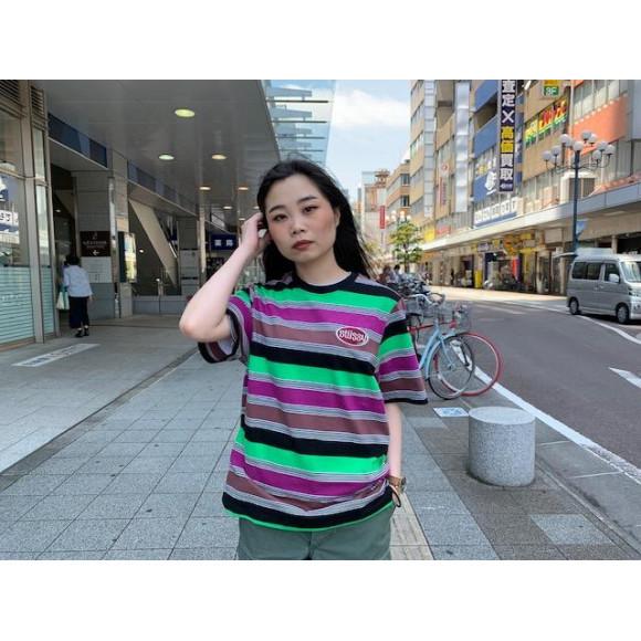 【Stussy women】ボーダーTシャツ!