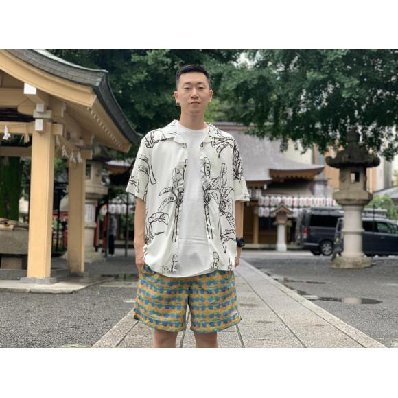 夏のコーディネート「柄」!!