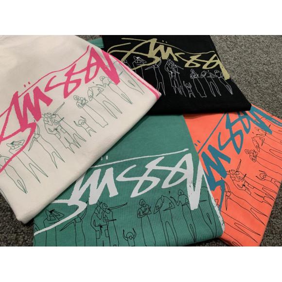 【復刻】オールドSTUSSYグラフィックTシャツ