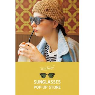 サングラス】期間限定SUNGLASSES POP-UPストア、好評開店中!【静岡店】
