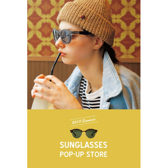 SUNGLASSES POP-UPストア、静岡PARCO 1Fにオープンです!