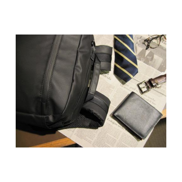 通勤バッグは背負うが良し~スーツ編~