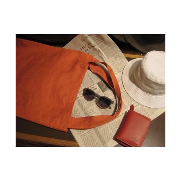 暑い季節のバッグは軽~く「麻」