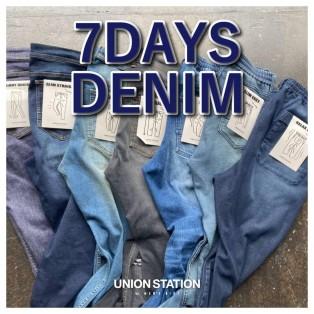 7days denim release!!