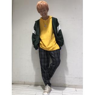 チェックペグトップスラックス〜斉藤〜