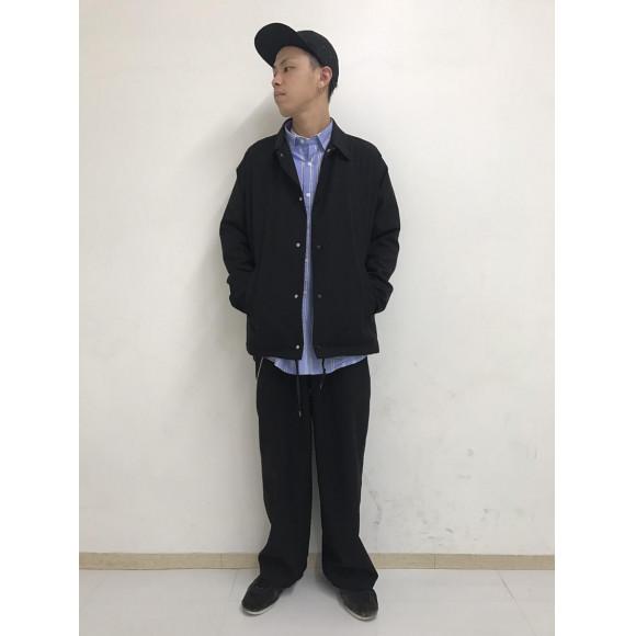 ストライプロングシャツ〜大久保〜